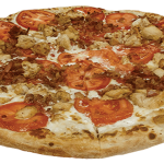 Chicken Bacon Ranch specialty pizza
