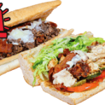 Steak or Chicken Bacon and Cheese Grilled Subs Pizza 911
