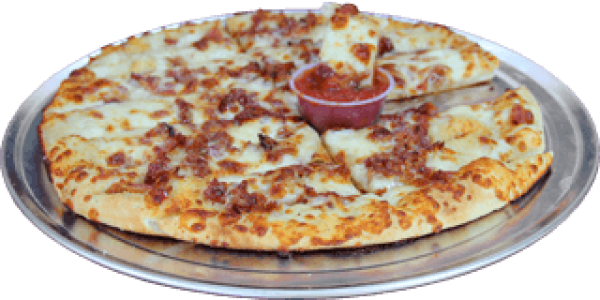 Cheesy Breadstix With Bacon