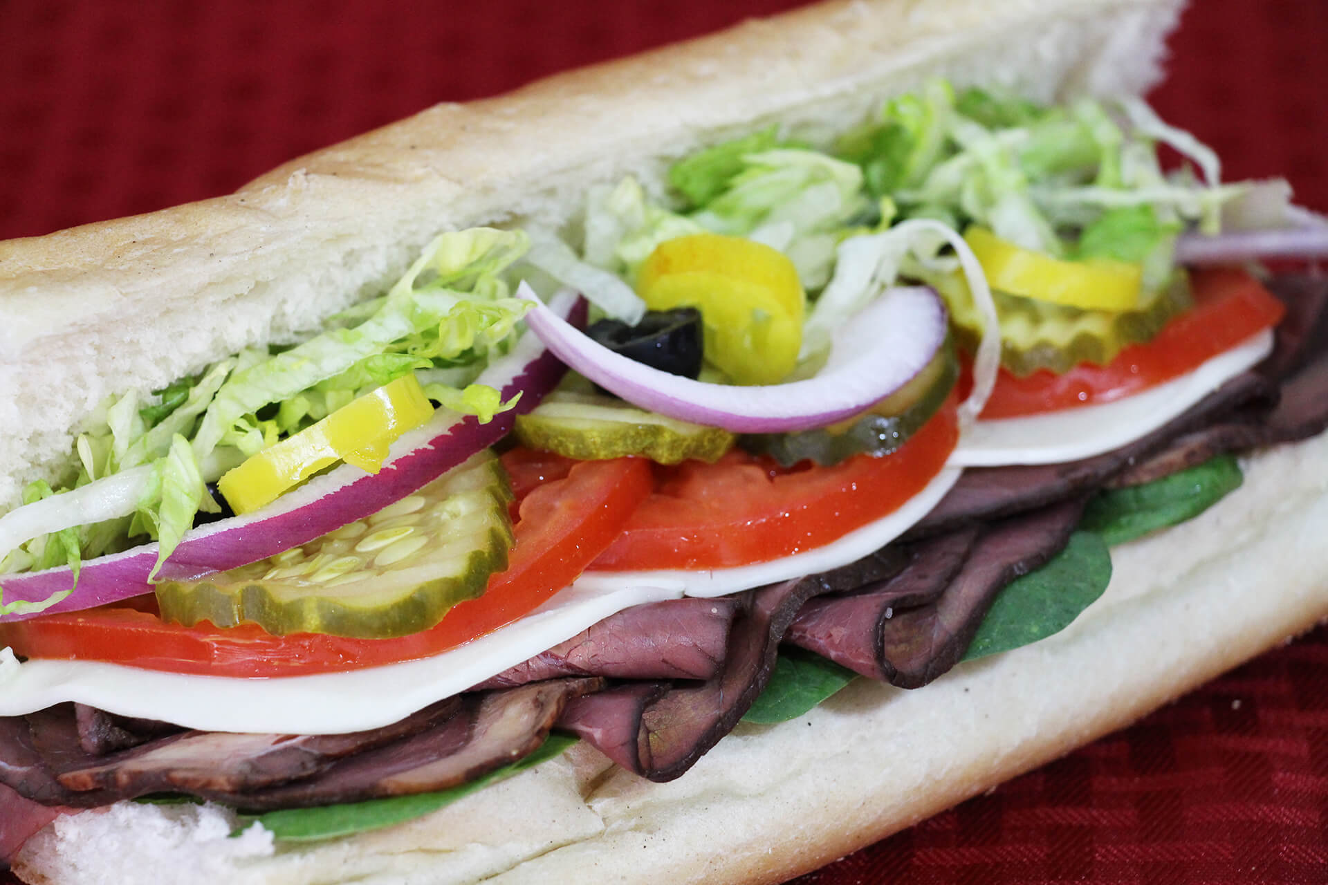 Pizza 911 Cold Subs Roast Beef Header