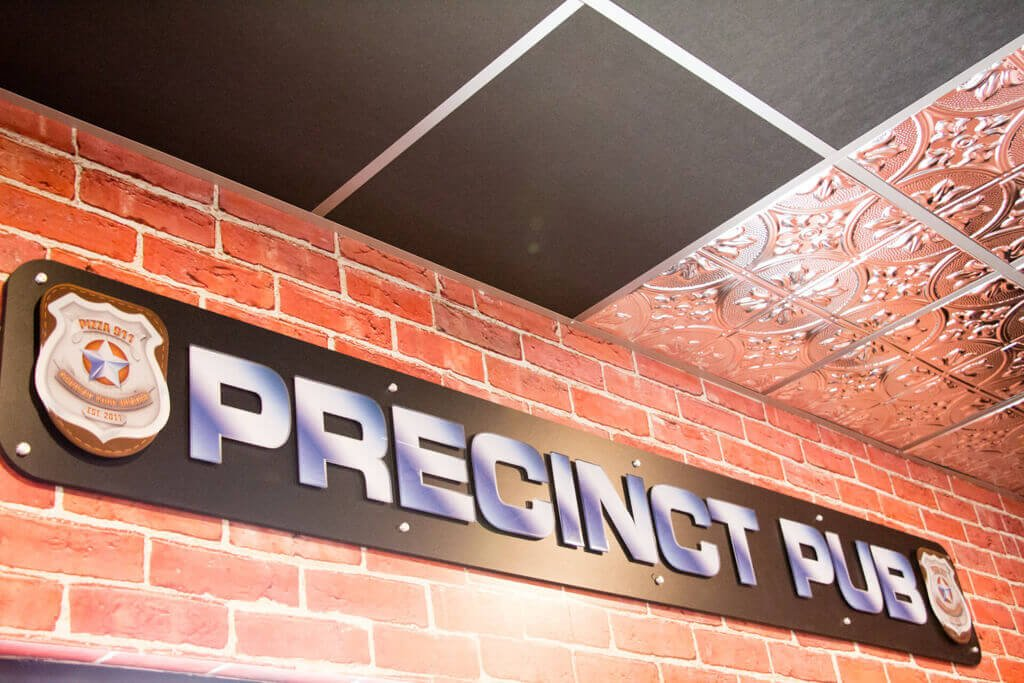 Precinct Pub - Pizza 911