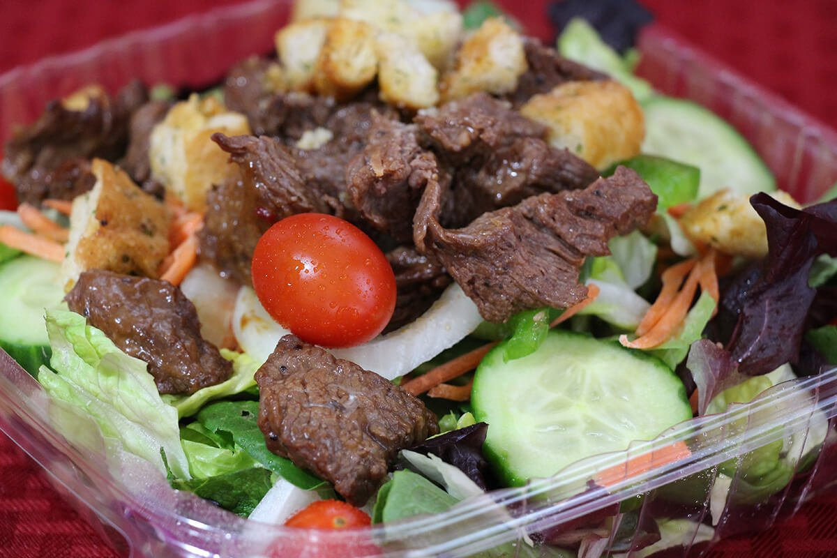 Steak Tip Salad - Pizza 911