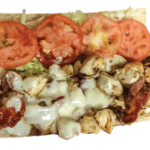 Chicken Bacon Ranch Hot Sub